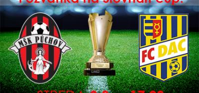 Informácia pre fanúšikov pred zápasom s FK DAC 1904 Dunajská Streda