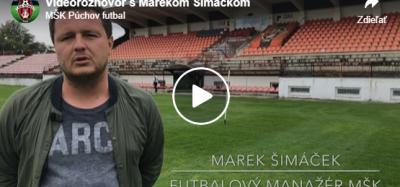 Videorozhovor s manažérom MŠK Púchov