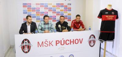 Púchovský futbal oslavuje storočnicu a vstupuje do novej sezóny, pozrite si tlačovú konferenciu MŠK pred štartom druhej ligy.