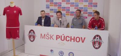 Tlačová konferencia MŠK pred štartom 2. ligy 2021/2022