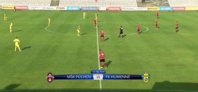 Zostrih zo zápasu MŠK - FK Humenné